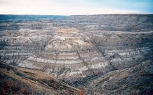 "Horse Canyon Formation in Alberta, photo by ""Anky-man"""