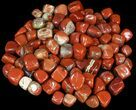 Bulk Polished Red Jasper - 8oz. (~ 10pc.) - Photo 2