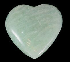 Small Polished Amazonite Hearts - 5 Pack