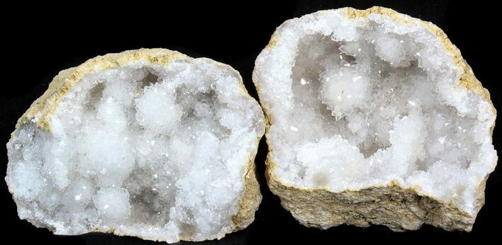 "Wholesale Box: 3"" to 4"" Cracked Quartz Geodes - 60 Geodes - Photo 1"