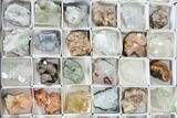 Mixed Indian Mineral & Crystal Flats - 54 Pieces - Photo 4