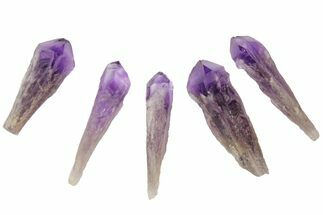 "2-3"" Natural, Amethyst Crystal Point - 1 Point"