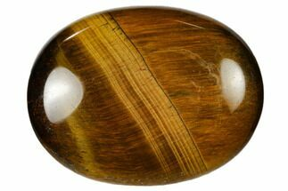 "1.8"" Polished Tiger's Eye Pocket Stone"