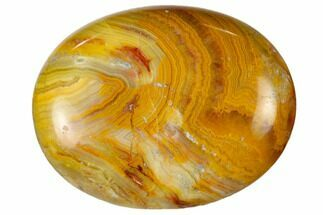 "1.8"" Polished Crazy Lace Agate Pocket Stone"