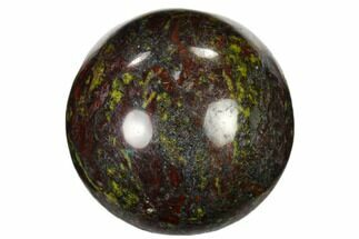 "1.2"" Polished Dragon's Blood Jasper Sphere"