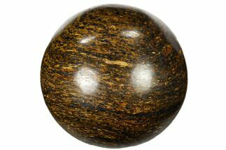 "1.2"" Polished Bronzite Sphere"