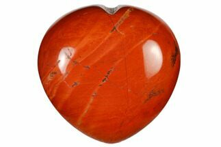 "1.6"" Polished Red Jasper Heart"