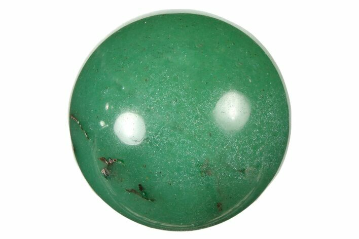".9"" Polished Green Aventurine Sphere - Photo 1"