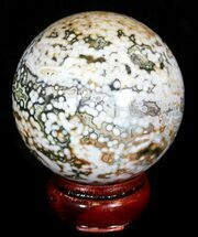 "Buy 2.75"" Unique Ocean Jasper Sphere  - #32173"