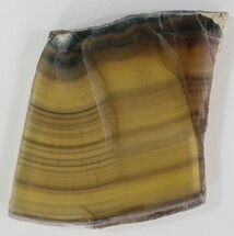 "Buy 4.2"" Polished Golden Fluorite Slab - #34855"