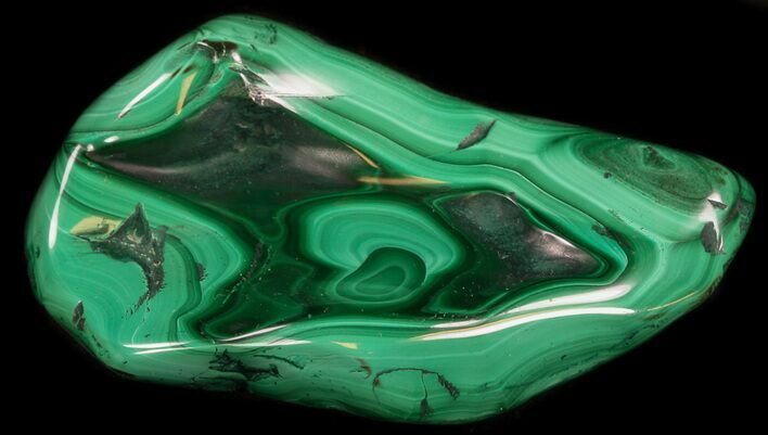 "3.8"" Polished Malachite Specimen - Congo"