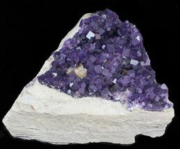 "Buy 16"" Purple, Cubic Fluorite Plate - Cave-in-Rock (Reduced Price) - #35710"