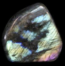 "3.2"" Flashy Polished Labradorite - Free-Standing For Sale, #37577"