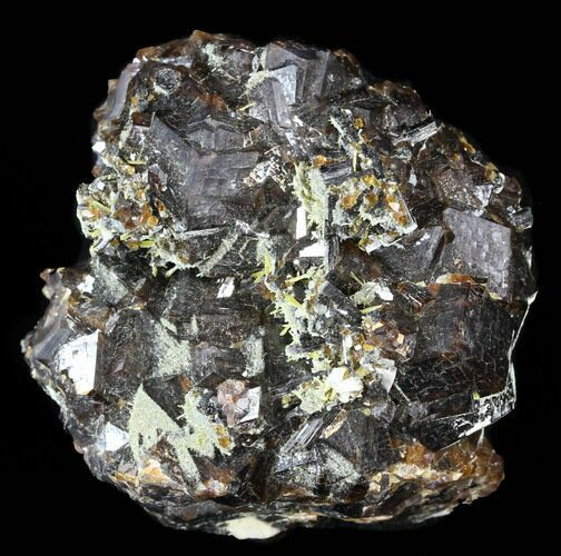 "2.7"" Garnet Cluster with Feldspar and Epidote- Pakistan"