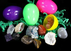Rock & Mineral Filled Easter Eggs!  For Sale, #41596