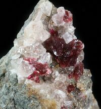 Roselite & Calcite - Fossils For Sale - #44760