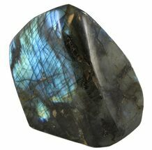 "Buy 5"" Flashy Polished Free Form Labradorite - #45187"