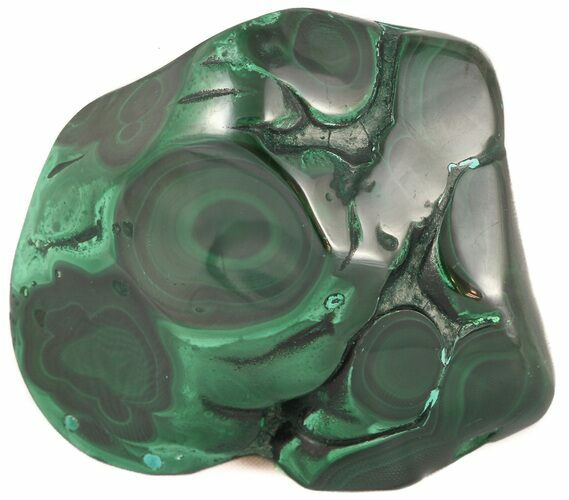"2.7"" Polished Malachite Specimen - Congo"