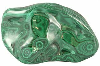 "Buy 6.0"" Polished Malachite Specimen - Congo - #45268"