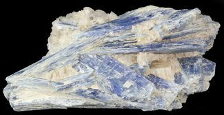 "3.0"" Tabular Kyanite Crystals with Quartz - Brazil For Sale, #45002"
