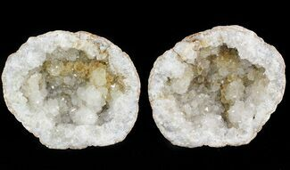 "Buy 3.9"" Keokuk Geode with Quartz - Missouri - #47119"