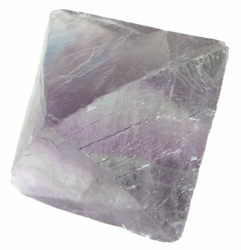 "1.65"" Fluorite Octahedral Crystal - Purple/Green"