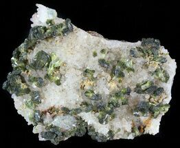 "Buy 2.2"" Lustrous, Epidote Crystal Cluster - Morocco - #49405"