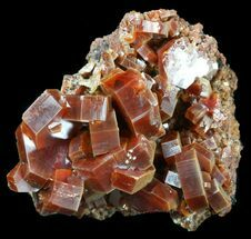 "Buy 1.5"" Large, Ruby Red Vanadinite Crystals - Morocco - #51283"