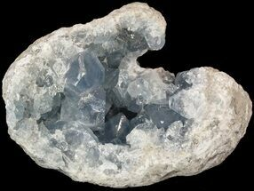 "5.3"" Celestite Crystal Geode - Madagascar For Sale, #52892"