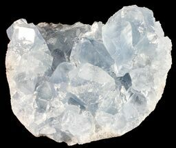 "2.8"" Sky Blue Celestite Crystal Cluster - Madagascar For Sale, #54812"