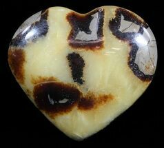 "Buy 3.2"" Polished Septarian ""Heart""  - #54700"