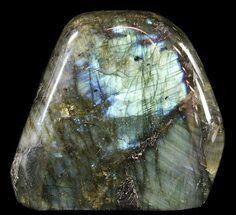 "3.9"" Flashy Polished Free Form Labradorite For Sale, #54857"