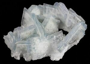 "2.1"" Tabular, Blue Barite Crystal Cluster - Spain For Sale, #55217"