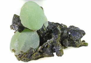 "Buy 2.7"" Prehnite Spheres with Epidote - Mali - #56110"