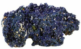 "2.2"" Sparkling Azurite Crystal Cluster - Laos For Sale, #56057"