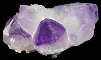 Quartz var. Amethyst - Fossils For Sale - #57045