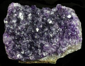 "Buy 3.3"" Deep Purple Amethyst Cluster - Uruguay - #58126"