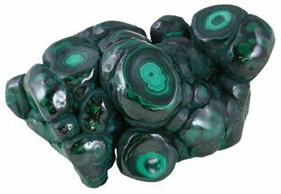 "Buy 4.3"" Polished Malachite - Congo - #58594"