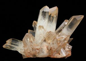 "7.2"" Tangerine Quartz Crystal Cluster - Madagascar For Sale, #58760"