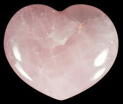 "Buy 3.9"" Polished Rose Quartz Heart - Madagascar - #59098"