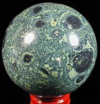 "2.7"" Polished Kambaba Jasper Sphere - Madagascar For Sale, #59315"