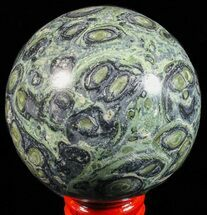 "2.6"" Polished Kambaba Jasper Sphere - Madagascar For Sale, #59321"