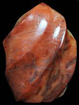 "5.3"" Carnelian Agate ""Flame"" Sculpture For Sale, #59306"