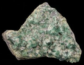 Fluorite & Galena - Fossils For Sale - #60369