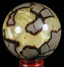 "Buy 2.6"" Polished Septarian Sphere - Madagascar - #60526"
