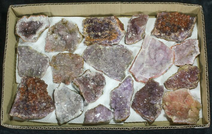 Morocco Amethyst (Wholesale Flat) - 18 Pieces