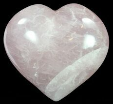 "Buy 4.5"" Polished Rose Quartz Heart - Madagascar - #62485"