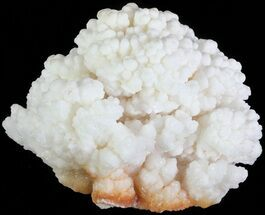"4.6"" White Aragonite and Calcite Formation - Fluorescent For Sale, #62237"
