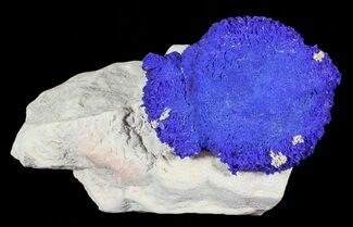 "Buy 1.5"" Brilliant Blue Azurite Sun On Rock - Australia - #63235"