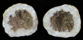 "Buy 2.1"" Keokuk Geode with Calcite Crystals - Missouri - #62263"